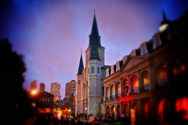 Photograph - St. Louis Cathedral 3 by Jim Albritton