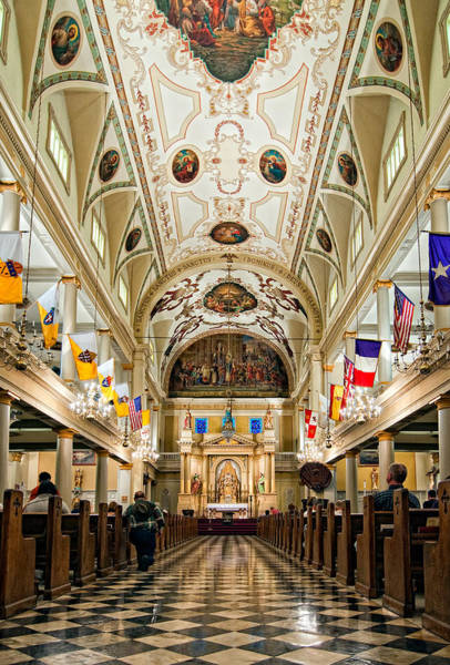 Steve Harrington Wall Art - Photograph - St. Louis Cathedral by Steve Harrington