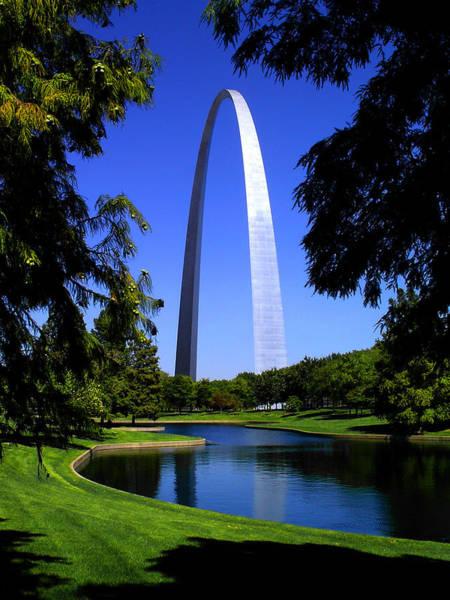 Photograph - St Louis Gateway Arch by Patrick Malon