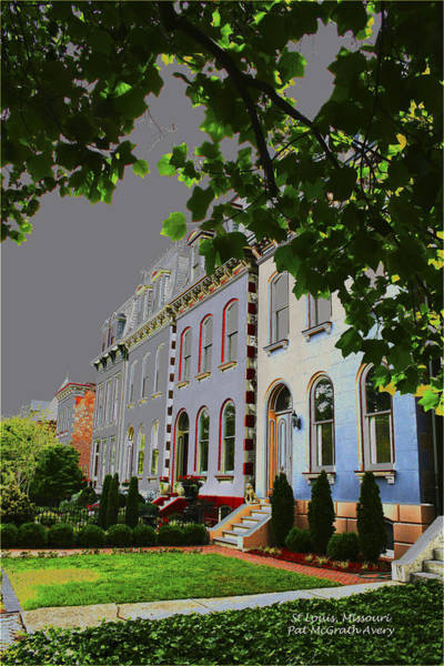 Photograph - St Louis Homes by Pat McGrath Avery