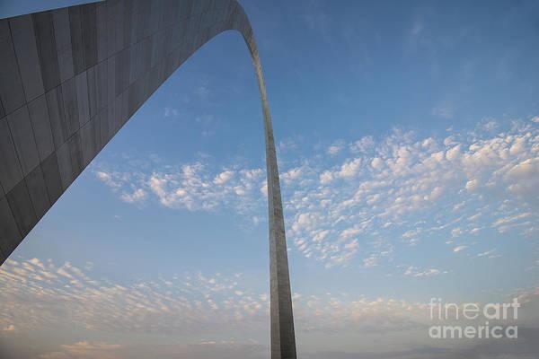 Photograph - St. Louis Missouri Gateway Arch 8935 by David Haskett II