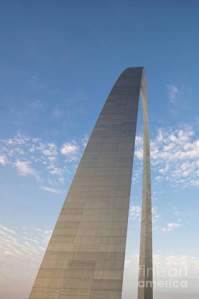 Photograph - St. Louis Missouri Gateway Arch 8936a by David Haskett II