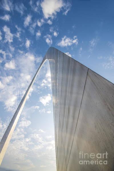 Photograph - St. Louis Missouri Gateway Arch 8970 by David Haskett II