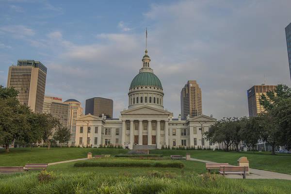 Photograph - St. Louis Missouri Jefferson Memorial by David Haskett II