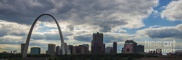 Photograph - St. Louis Panoramic by David Haskett II