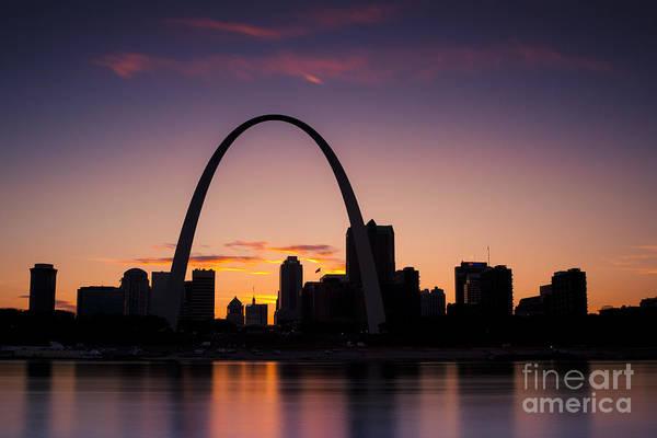 Photograph - St Louis Sunset by Ryan Heffron