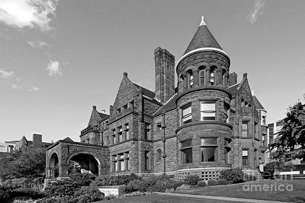 College Photograph - St. Louis University Samuel Cupples House by University Icons