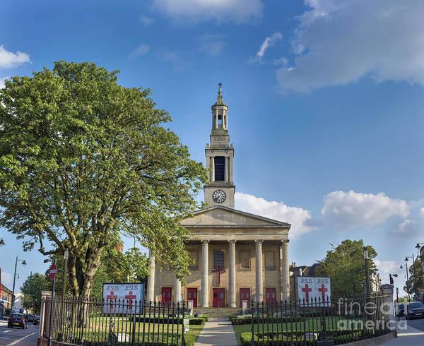 Wall Art - Photograph - St Luke's Church by Donald Davis