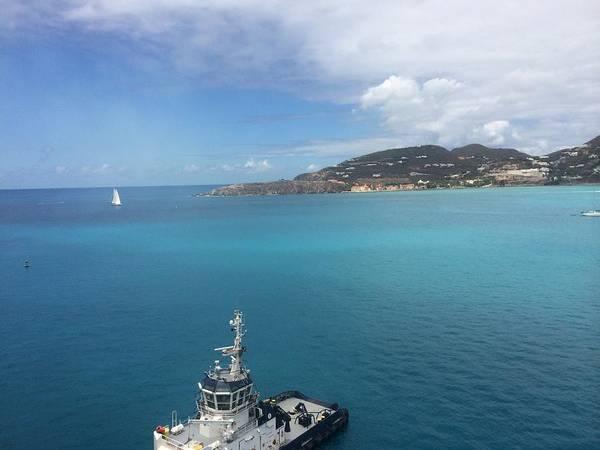 Carribean Islands Digital Art - St Maarten by Hannah  Gillihan