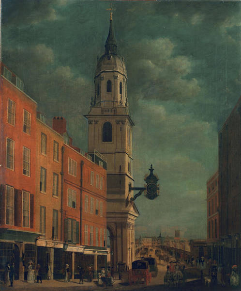 Traffic Painting - St. Magnus The Martyr by James Malton