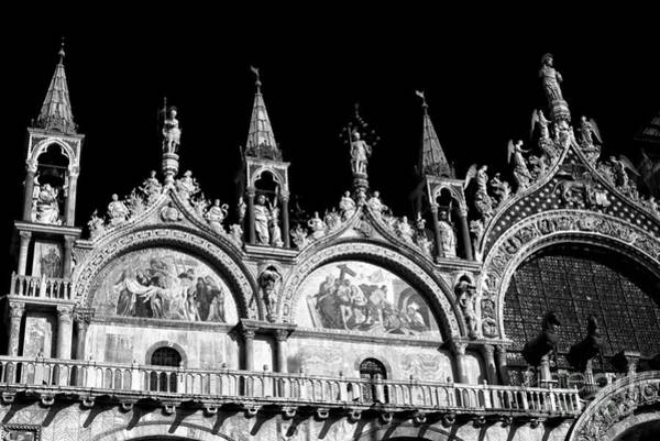 Wall Art - Photograph - St. Mark's Basilica Curves by John Rizzuto