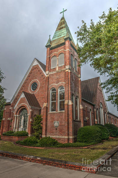 Photograph - St Mary Catholic Church by Dale Powell