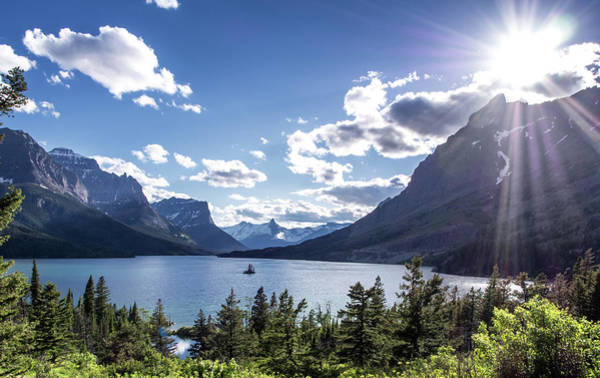 Wall Art - Photograph - St. Mary Lake by Aaron Aldrich Fine Art