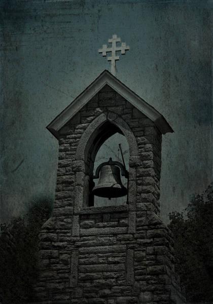 Photograph - St Mary Magdalene Church Teal by Lesa Fine