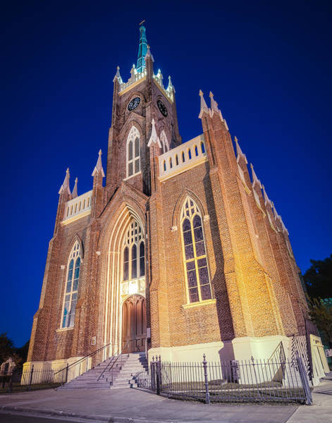 Photograph - St. Mary's Basilica by Andy Crawford