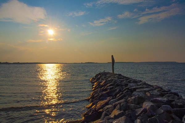 Jetti Wall Art - Photograph - St Marys County Maryland - Sunrise  by Bill Cannon