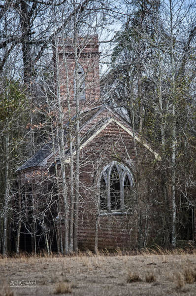 Photograph - St. Mary's Episcopal Church by Andy Crawford