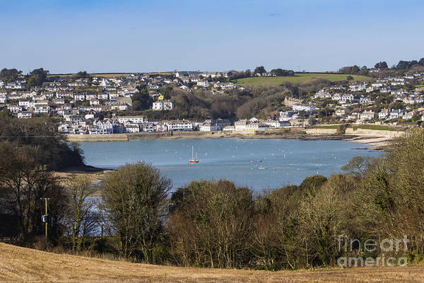 Photograph - St Mawes Harbour by Brian Roscorla