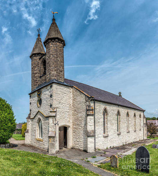 Cemetaries Wall Art - Photograph - St Michael Church by Adrian Evans