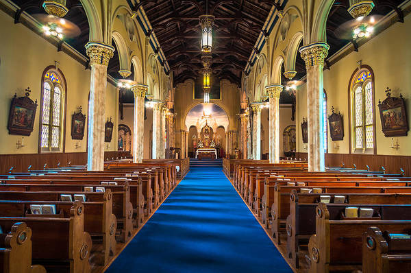 Photograph - St. Michael The Archangel Church Sanctuary by Andy Crawford