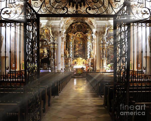 Photograph - St. Michael's by Edmund Nagele