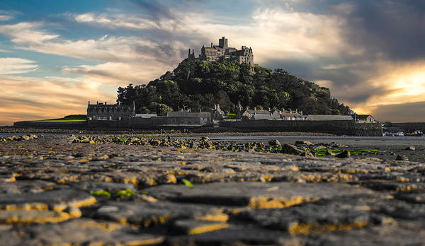 Cornwall Photograph - St Michael's Mount Cornwall Uk by Martin Newman