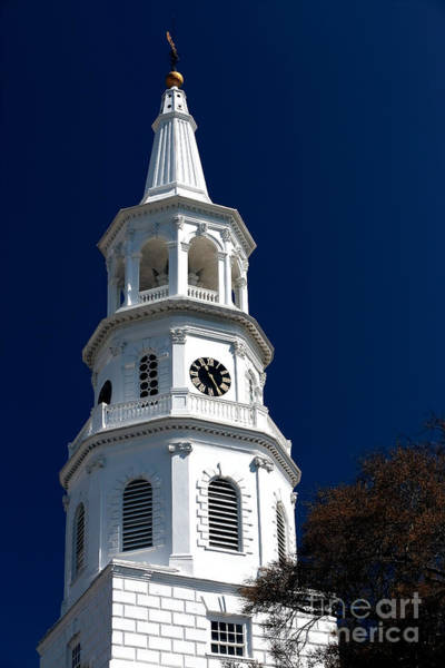 Photograph - St. Michael's Tower by John Rizzuto