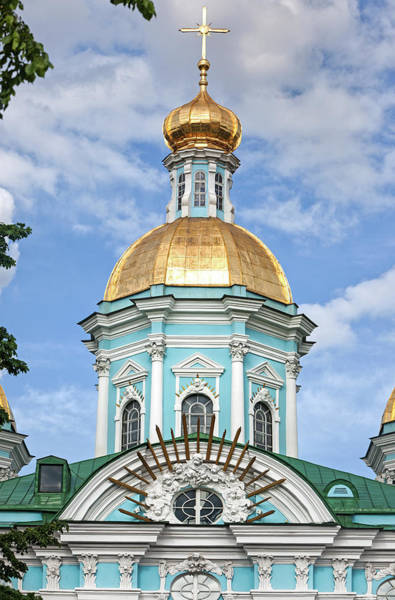 St. Petersburg Photograph - St Nicholas Cathedral by John Freeman