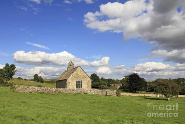 St Oswalds Chapel Oxfordshire Art Print