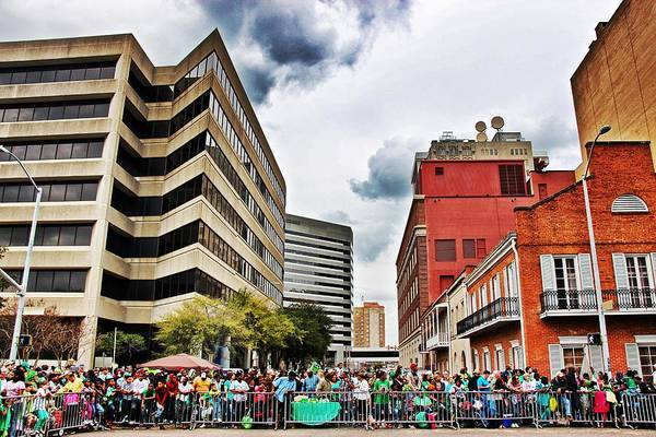 Photograph - St. Paddy's Parade 2 by Jim Albritton