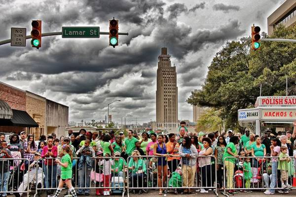 Photograph - St. Paddy's Parade by Jim Albritton