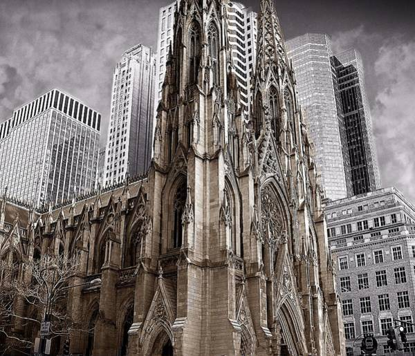 Photograph - St. Patricks Cathedral  by David Dehner