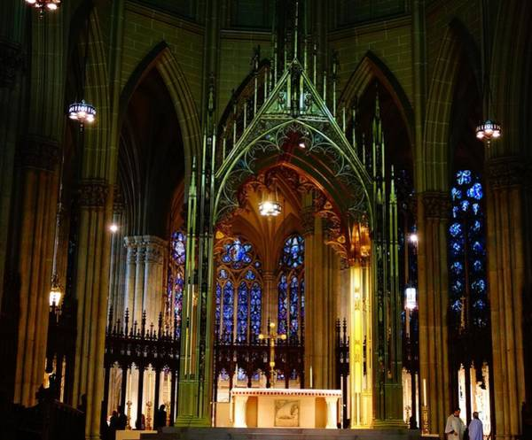 Photograph - St. Patrick's Cathedral In New York City by Dan Sproul