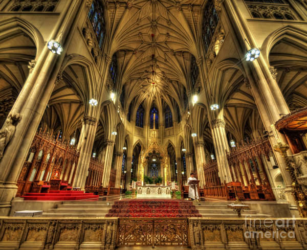 Photograph - St Patrick's Cathedral - New York 3.0 by Yhun Suarez