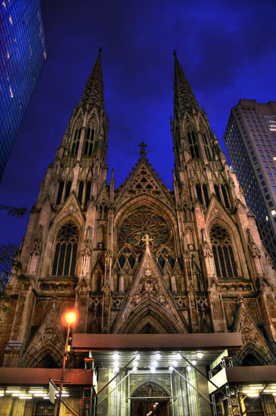 Wall Art - Photograph - St. Patrick's Cathedral by Randy Aveille