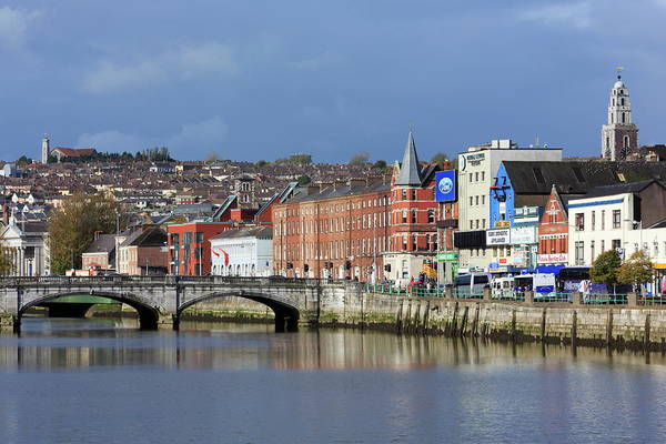 Quayside Photograph - St. Patricks Quay On The River Lee by Richard Cummins / Robertharding