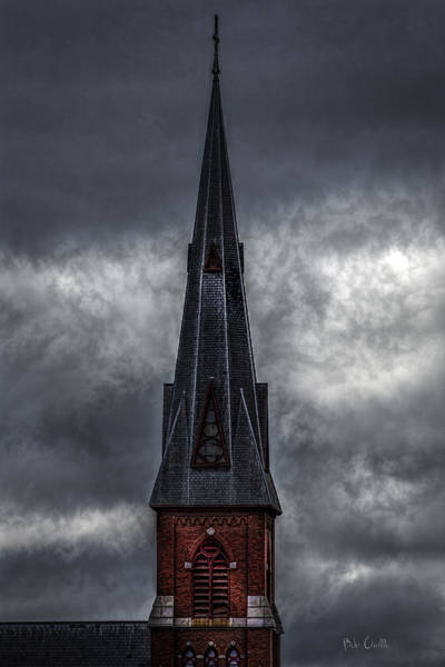 Photograph - St. Patricks Spire  by Bob Orsillo