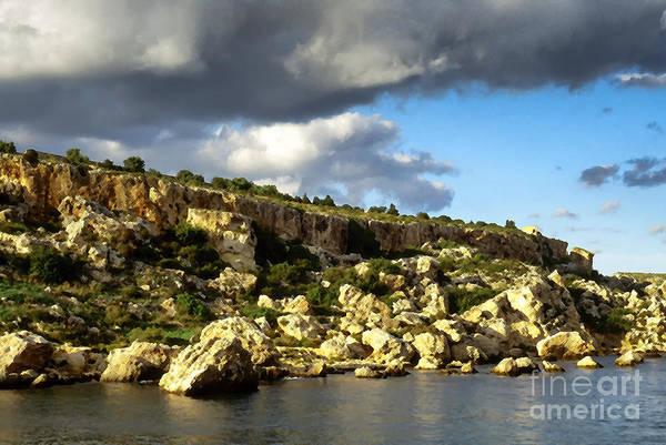 Photograph - St Pauls Bay Malta by Thomas R Fletcher
