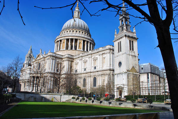 Bishop Hill Photograph - St Pauls Cathedral City Of London by Andy Evans