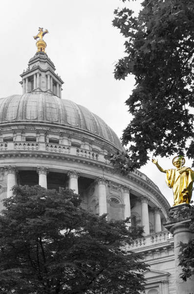 Photograph - St. Paul's Cathedral by Sharon Popek