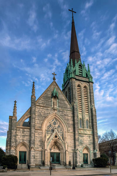 Photograph - St. Paul's Catholic Church II by Jerry Gammon
