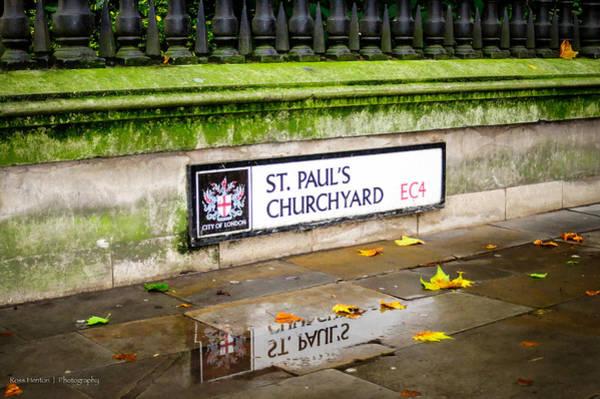 Photograph - St. Paul's Churchyard by Ross Henton