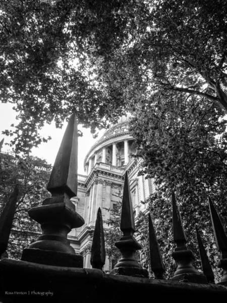Photograph - St. Paul's Fence by Ross Henton