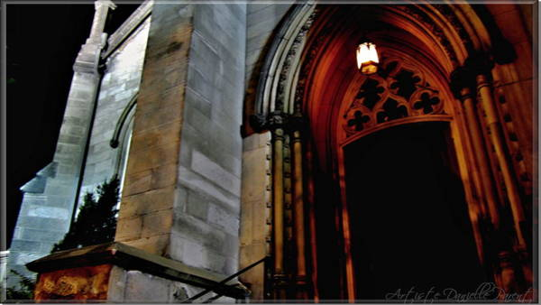 Photograph - St. Paul's Presbyterian Church Doorway by Danielle  Parent