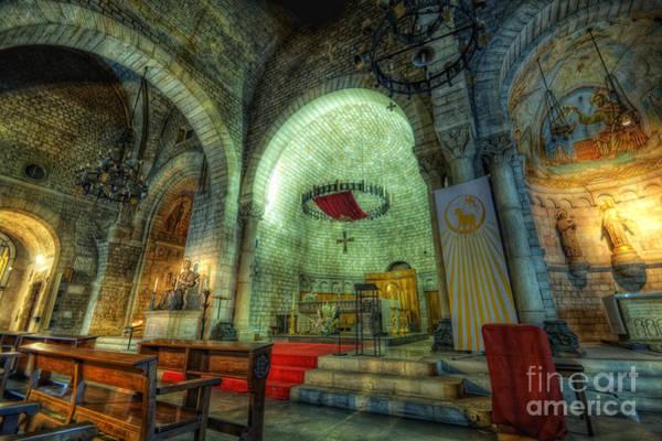 St Pere De Puelles Church - Barcelona Art Print