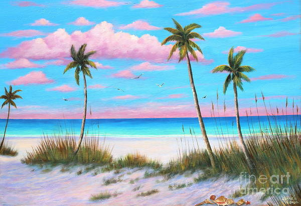 Wall Art - Painting - St Pete Beach  by Gabriela Valencia