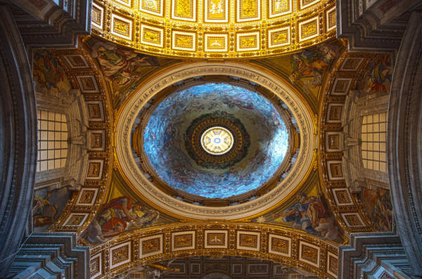 Photograph - St. Peter's Basilica by Brad Brizek