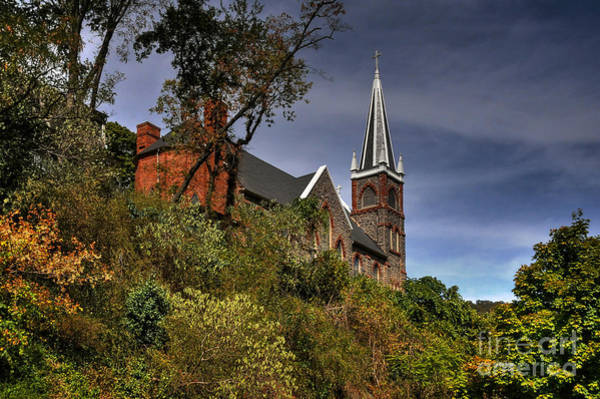 Photograph - St. Peter's Of Harpers Ferry by Lois Bryan