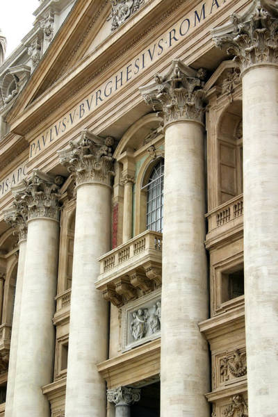 Photograph - St. Peter's Papal Balcony by KG Thienemann