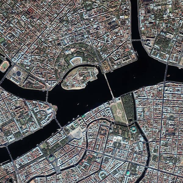 St. Petersburg Photograph - St Petersburg by Geoeye/science Photo Library